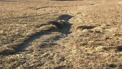 Erosjon i drag foto Unni R